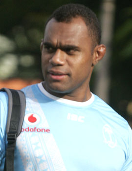 Olympic 7s gold medalist, Leone Nakarawa after the training session.Vodafone Flying Fijians will play Scotland this Saturday at ANZ Stadium in Suva.Photo:Kunal Keshneel
