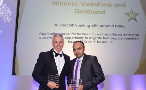 Vodafone wins top international award