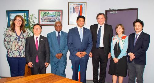AG holds discussion with ILO Mission