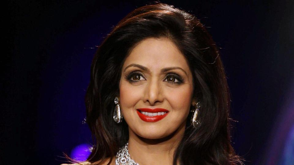 Female Bollywood superstar Sridevi dies