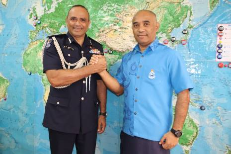 Senior Fijian officer graduates in Indonesia