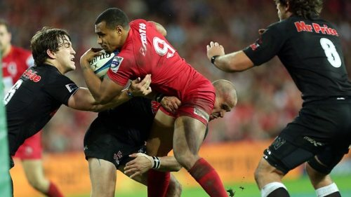 Sharks end Reds title defence