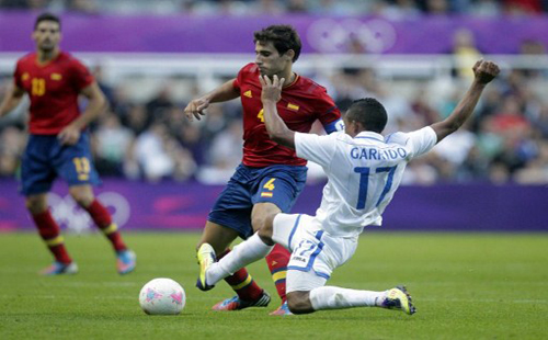 Spain out of Olympic football tournament