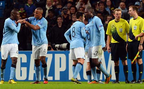 City on brink of exit after draw with Ajax