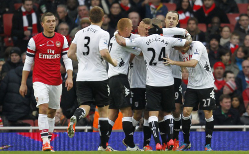 Slap-dash Arsenal held up by Fulham