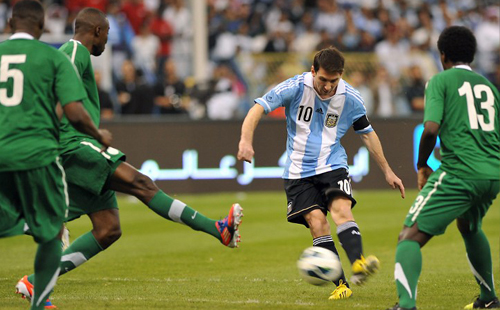 Messi draws a blank as Saudis hold Argentina