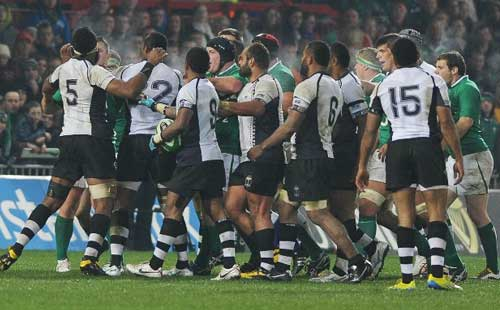 Gilroy stars as Ireland's youngsters rout Fiji
