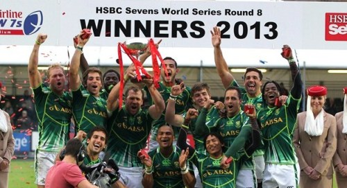 South Africa wins Scotland 7s
