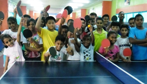 Table tennis enthusiasts convene for camp