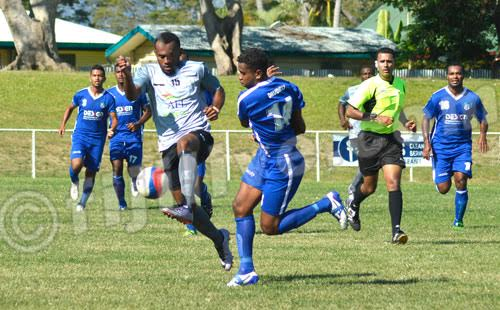 10-man Blues overcome Suva