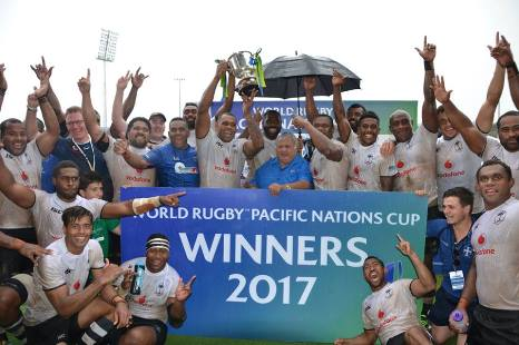 Flying Fijians retain Pacific Nations Cup
