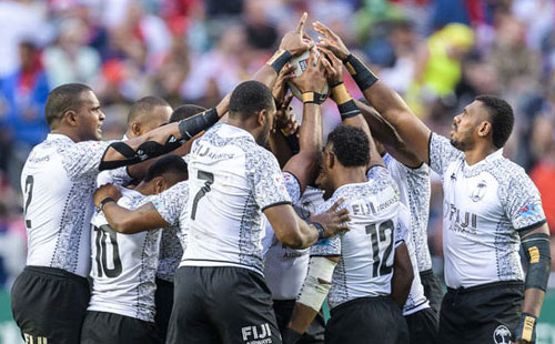 Fiji makes blistering start in Singapore 7s